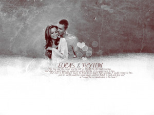 One Tree Hill Lucas & Peyton