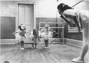 Tiny dancers....