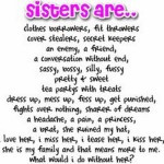 Funny Sister Quotes Tumblr...