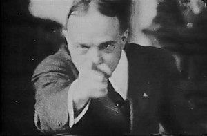Billy Sunday, another plain-spoken evangelist