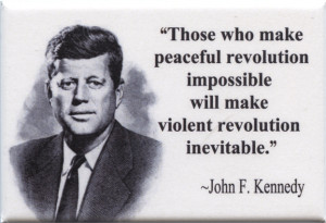 FM045 - John F. Kennedy Quote