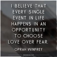 Oprah ...quotes and inspiration!