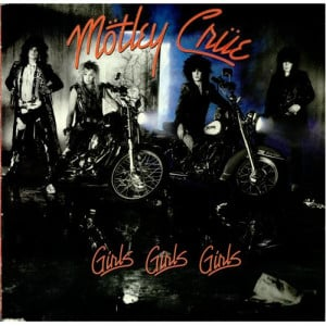 Motley Crue, Girls Girls Girls, UK, Deleted, vinyl LP album (LP record ...