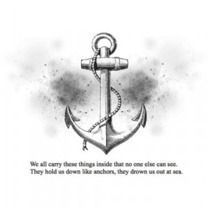 anchor, anchors, black and white