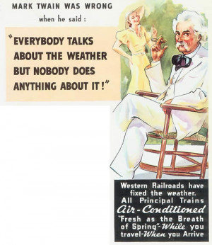 Advertising poster from the 1950s.