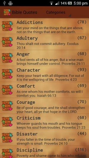 Holy Bible Quotes (Verses) 1.51 screenshot 0