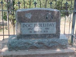 doc holliday tombstone quotes latin John