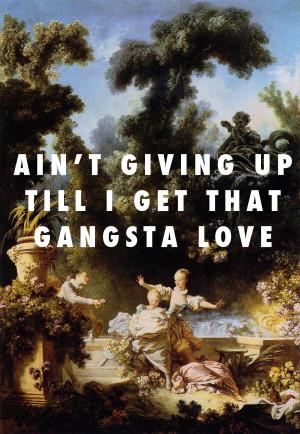 Gangsta Love Tumblr Cool Fly Art The Progress Of Gangsta Love The ...