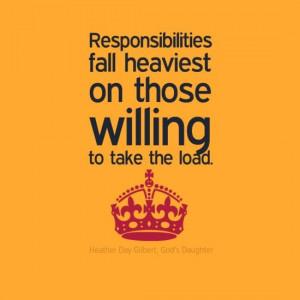 Responsibility quotes, moti...