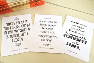 gatsby love quotes the great gatsby love quotes i tried to make sure ...