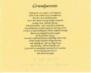 Happy Grandparents Day Poems