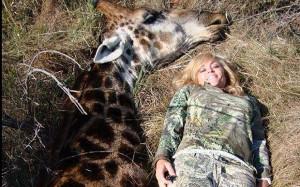 Ricky Gervais fuels hunting debate by tweeting photo of woman posing ...