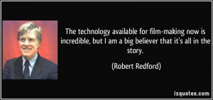 More Robert Redford Quotes