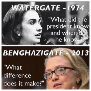 Hillary Clinton fired from Watergate committee for fraud, ethics ...