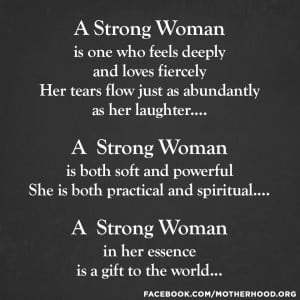 Strong Woman Poems Quotes