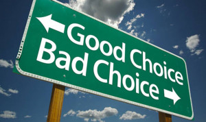 good choice-bad choice