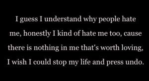 self love truth people life depression sad quotes vent