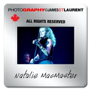 Natalie MacMaster performing live in concert