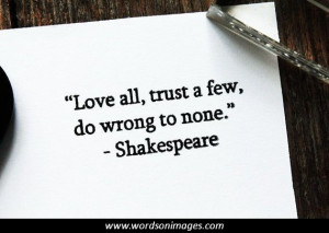 Shakespeare's famous quotes