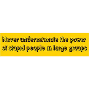 ... Funny Awareness Bumper Sticker Quotes Sayings Phrases Humorous Car