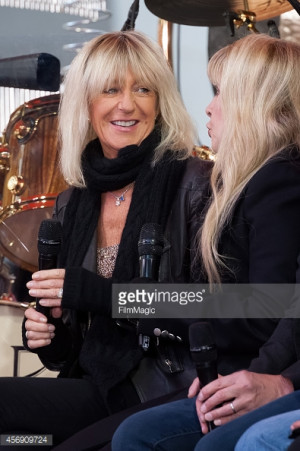 News Photo Christine McVie And Stevie Nicks Of Fleetwood Mac