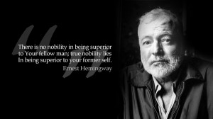 black and white quotes grayscale monochrome ernest hemingway 1600x900 ...