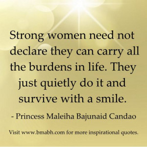 quotes about strong women image-Strong women need not declare they can ...