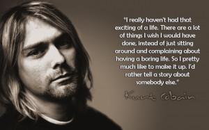 Kurt Cobain Heroin Quote Kurt cobain qu