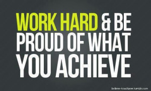 Motivation Monday: Take pride in yourself