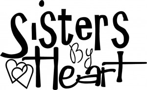 Sisters-By-Heart-Vinyl-Decal-Wall-Stickers-Letters-Lettering-Decor ...