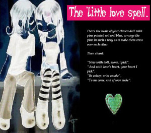 More love spells - spells to help you with love.