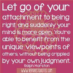 ... viewpoints of others, without being crippled by your own judgment