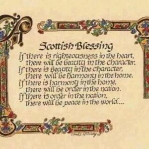 Scottish Blessing: found it, loved it and weaved it into a Queen ...