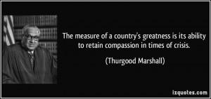 Thurgood Marshall Quote Jealous Husband