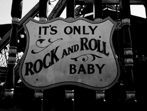 baby, black and white, plaque, rock and roll