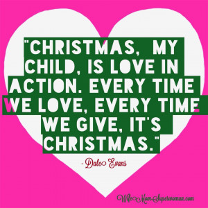 Dale Evans Christmas Quote