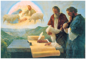 The Prophet Isaiah Foretells Christ's Birth -By Harry Anderson
