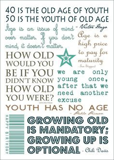 My Own Birthday Quotes Perfect for 50th birthday gift