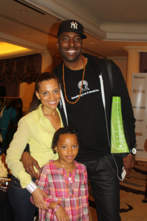 John Salley And Wife...