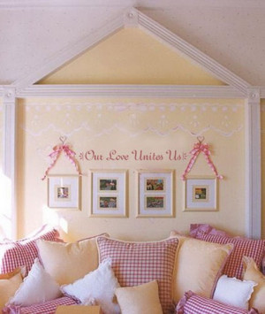 Kids Love Quotes and Sayings Wall Stickers for Bedroom Wall Decoration ...