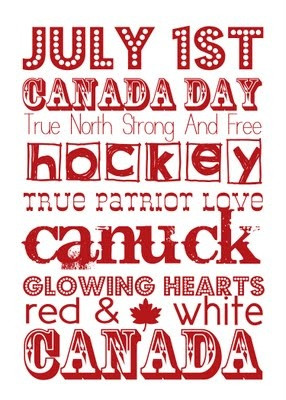 Happy Canada Day 2014 Saying Images with Quotes