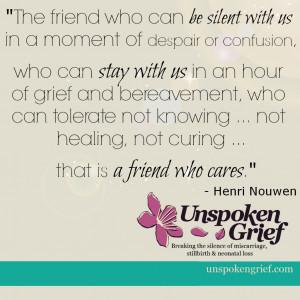 Grief Quote - UnspokenGrief.com