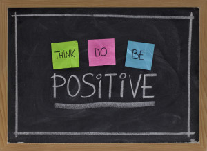 moreover we can always use the power of positive thinking