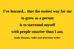 Knowledge Sharing Quotes Artful quote andy rooney