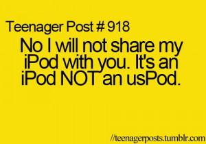 ipod, teenager post, teenager posts
