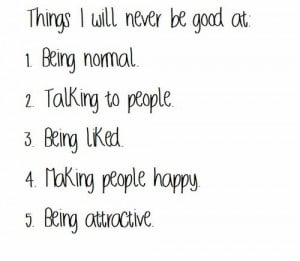 Never Being Good Enough Quotes