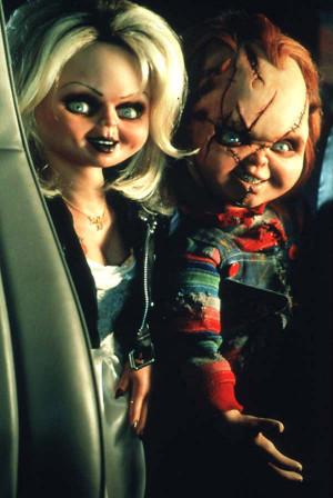 Bride of Chucky Chucky and Tiffany