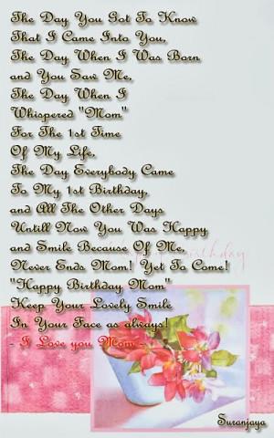 Happy Birthday Mom Quotes 03
