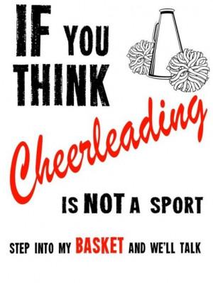 cheerleading, sport?