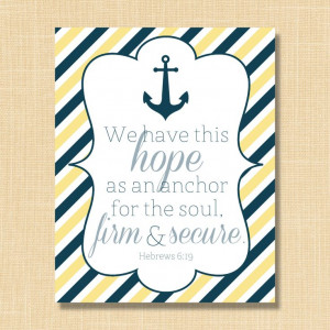 ... Bible Verses, Anchors Tattoo, Bible Study Quotes, Anchors Bible Vers